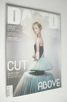 Dazed & Confused magazine (February 2010 - Magdalena Frackowiak)