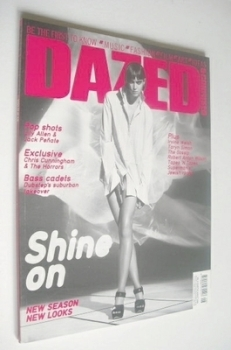 Dazed & Confused magazine (August 2006 - Rachel Alexander cover)