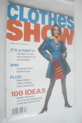 <!--1991-12-->Clothes Show magazine - December 1991