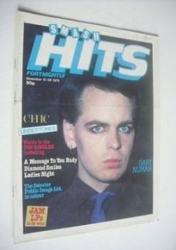 Smash Hits magazine - Gary Numan cover (15-28 November 1979)