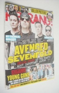 <!--2013-08-17-->Kerrang magazine - Avenged Sevenfold cover (17 August 2013