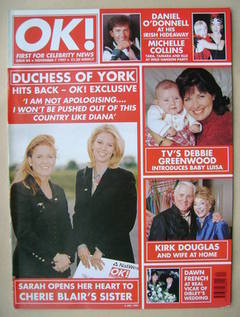 <!--1997-11-07-->OK! magazine (7 November 1997 - Issue 84)