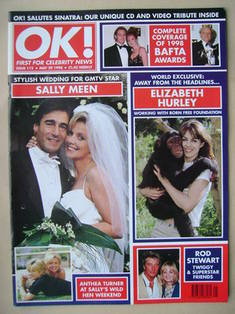 <!--1998-05-29-->OK! magazine (29 May 1998 - Issue 112)
