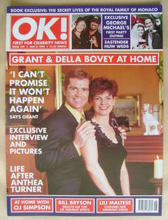 <!--1998-05-08-->OK! magazine - Grant Bovey and Della Bovey cover (8 May 19