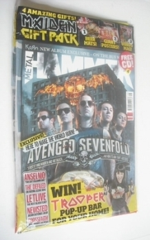 Metal Hammer magazine - Avenged Sevenfold cover (Summer 2013)