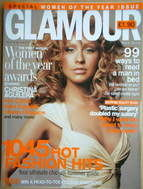 <!--2004-07-->Glamour magazine - Christina Aguilera cover (July 2004)