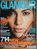 <!--2001-09-->Glamour magazine - Jennifer Lopez cover (September 2001)
