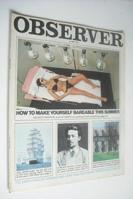 <!--1970-05-31-->The Observer magazine - How To Make Yourself Bareable cove