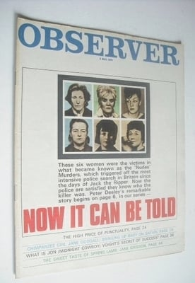<!--1970-05-03-->The Observer magazine - Now It Can Be Told cover (3 May 19