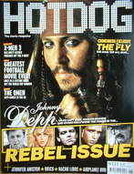 Hotdog magazine - Johnny Depp cover