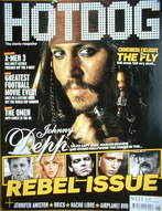 Hotdog magazine - Johnny Depp cover