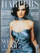 British Harpers & Queen magazine - Rachel Weisz cover