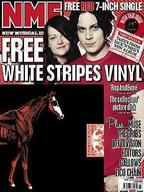 NME magazine - The White Stripes & Limited Edition Rag & Bone red vinyl