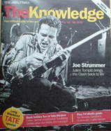 The Knowledge magazine - 12-18 May 2007 - Joe Strummer cover