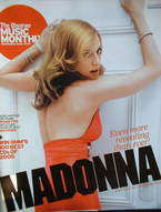 The Observer Music Monthly magazine - November 2005 - Madonna cover
