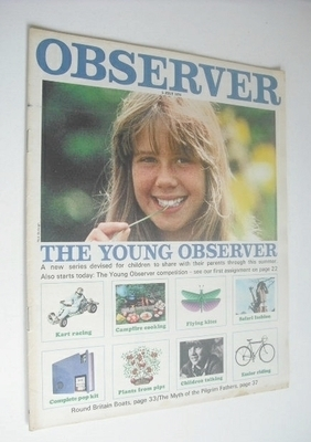 <!--1970-07-05-->The Observer magazine - The Young Observer cover (5 July 1