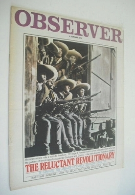 <!--1970-01-04-->The Observer magazine - The Reluctant Revolutionary cover