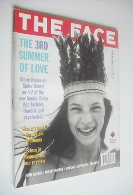 <!--1990-07-->The Face magazine - Kate Moss cover (July 1990 - Volume 2 No.