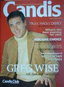Candis magazine - February 2003 - Greg Wise cover