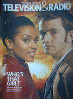 Television&Radio magazine - David Tennant Freema Agyeman cover (31 March 2007)