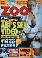<!--2004-06-25-->Zoo magazine - Abi Titmuss cover (25 June 2004)