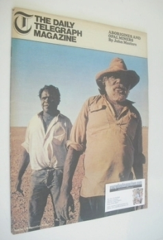 The Daily Telegraph magazine - Aborigines and Opan Miners cover (29 September 1967)