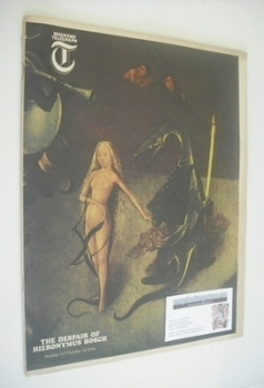 Weekend Telegraph magazine - The Despair Of Hieronymus Bosch cover (14 October 1966)