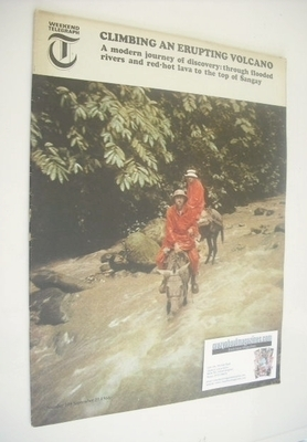 <!--1966-09-23-->Weekend Telegraph magazine - Journey To Mount Sangay cover