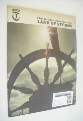 <!--1966-09-16-->Weekend Telegraph magazine - Land Of Storms cover (16 Sept