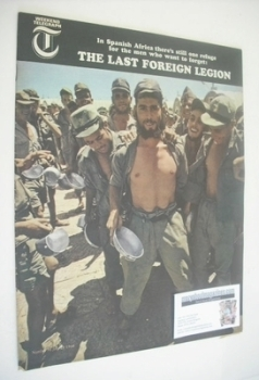 Weekend Telegraph magazine - The Last Foreign Legion cover (29 July 1966)