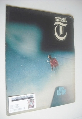 <!--1964-12-04-->Weekend Telegraph magazine - Ski Scene cover (4 December 1