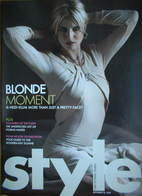 Style magazine - Heidi Klum cover (26 September 2004)