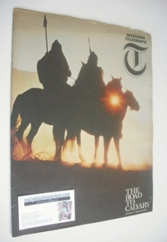 Weekend Telegraph magazine - The Road to Calvary cover (26 March 1965)