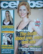 <!--2004-08-08-->Celebs magazine - Cynthia Nixon cover (8 August 2004)