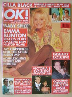 OK! magazine - Emma Bunton cover (28 January 2000 - Issue 197)