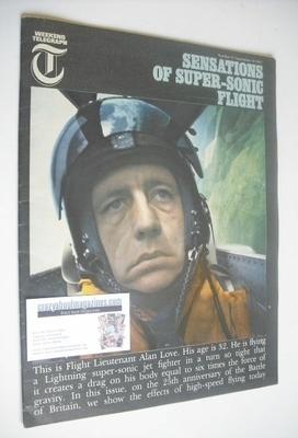 <!--1965-09-10-->Weekend Telegraph magazine - Flight Lieutenant Alan Love c