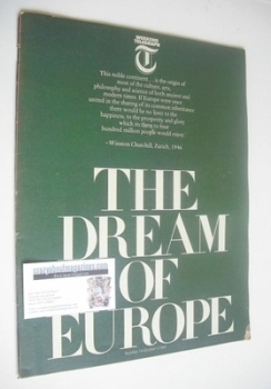 Weekend Telegraph magazine - The Dream of Europe cover (1 October 1965)