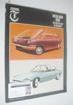 Weekend Telegraph magazine - Motor Show Issue (15 October 1965)