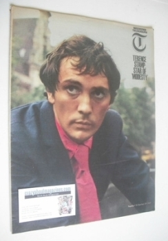 Weekend Telegraph magazine - Terence Stamp cover (29 October 1965)