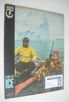 Weekend Telegraph magazine - Land of Ice cover (10 December 1965)