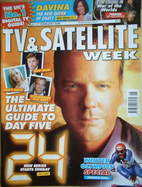 TV & Satellite Week magazine - Kiefer Sutherland cover (11-17 February 2006)