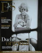 Evening Standard magazine - Camilla Parker Bowles (lookalike) cover (8 April 2005)