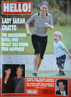 <!--1999-08-31-->Hello! magazine - Lady Sarah Chatto cover (31 August 1999
