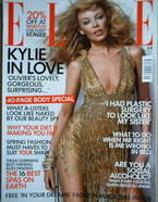 <!--2004-05-->British Elle magazine - May 2004 - Kylie Minogue cover