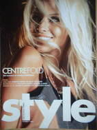 <!--2004-10-17-->Style magazine - Pamela Anderson cover (17 October 2004)