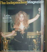 The Independent magazine - Shakira cover (28 January 2006 issue)