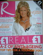 Real magazine - Rachel Hunter cover (23 December - 20 January 2006)