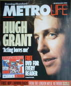 <!--2004-11-12-->Metrolife magazine - Hugh Grant cover (12-18 November 2004
