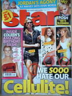 <!--2007-04-09-->Star magazine - Kate Moss cover (9 April 2007)