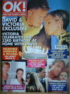 <!--2007-04-24-->OK! magazine - David Beckham and Victoria Beckham cover (2